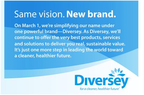 Diversey Rebrand